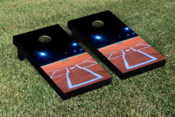 Baseball Field Cornhole Set with Bags
