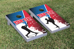 Custom Baseball Cornhole Set with Bags