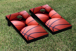 Basketballs Cornhole Set with Bags