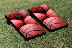 Basketballs Cornhole Set with Bags