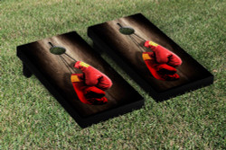 Boxing Cornhole Set with Bags