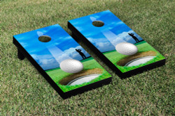 Golfing Cornhole Set with Bags