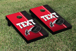 Custom Hockey 3D Cornhole Set with Bags