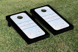 Hockey Rink Cornhole Set with Bags
