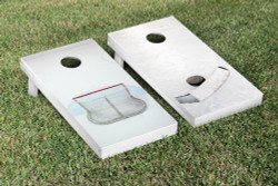 Hockey Themed Cornhole Set with Bags