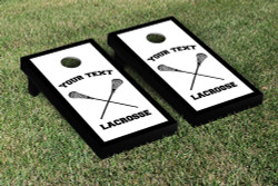 Custom Lacrosse Cornhole Set with Bags