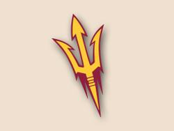 Arizona State Cornhole Decal