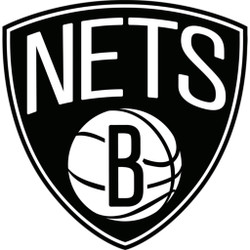 Brooklyn Nets Cornhole Decal