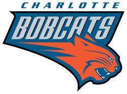 Charlotte Bobcats Cornhole Decal