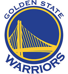 Golden State Warriors Cornhole Decal