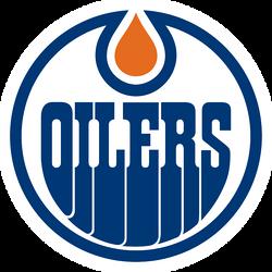 Edmonton Oilers Cornhole Decal