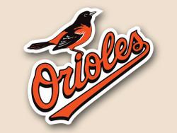 Baltimore Orioles Cornhole Decal
