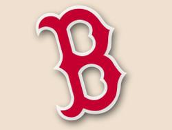 Boston Red Sox Cornhole Decal