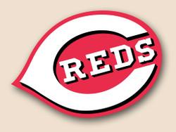Cincinnati Reds Cornhole Decal