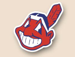 Cleveland Indians Cornhole Decal