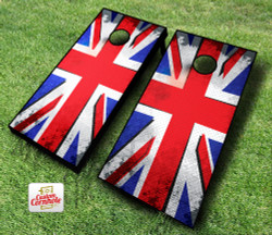 British Punk Flag Cornhole Set with Bags