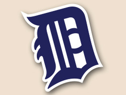 Detroit Tigers Cornhole Decal
