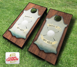 Personalized Golf Cornhole Set with Bags