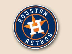 Houston Astros Cornhole Decal