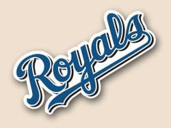 Kansas Royals Cornhole Decal