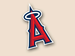 LA Angels Cornhole Decal