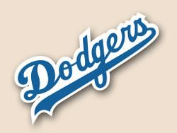 LA Dodgers Cornhole Decal