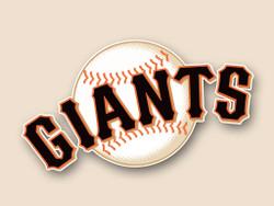 San Francisco Giants Cornhole Decal
