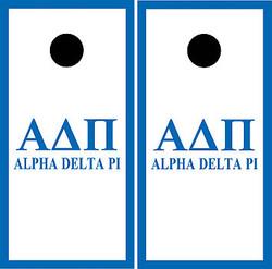 Alpha Delta Pi Cornhole Wraps