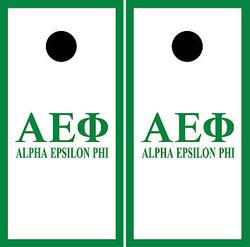 Alpha Epsilon Phi Cornhole Wraps