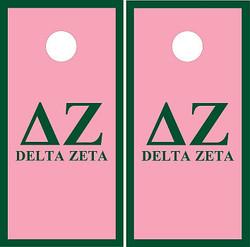 Delta Zeta Cornhole Wraps