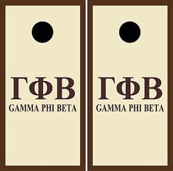 Gamma Phi Beta Cornhole Wraps