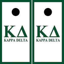 Kappa Delta Cornhole Wraps