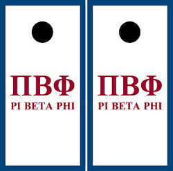 Pi Beta Phi Cornhole Wraps