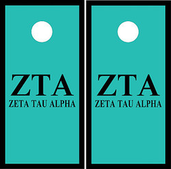 Zeta Tau Alpha Cornhole Wraps