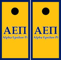 Alpha Epsilon Pi Cornhole Wraps