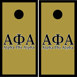 Alpha Phi Alpha Cornhole Wraps