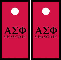 Alpha Sigma Phi Cornhole Wraps