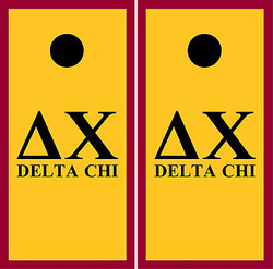Delta Chi Cornhole Wraps