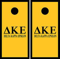 Delta Kappa Epsilon Cornhole Wraps