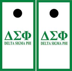 Delta Sigma Phi Cornhole Wraps