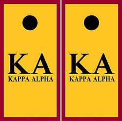 Kappa Alpha Cornhole Wraps