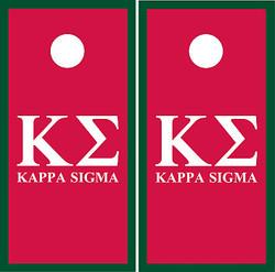 Kappa Sigma Cornhole Wraps