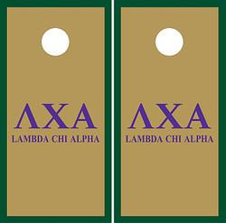 Lambda Chi Alpha Cornhole Wraps