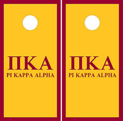 Pi Kappa Alpha Cornhole Wraps