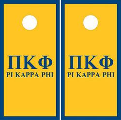 Pi Kappa Phi Cornhole Wraps