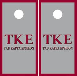 Tau Kappa Epsilon Cornhole Wraps