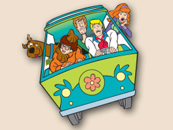 Mystery Machine Cornhole Decals