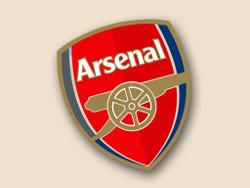 Arsenal F.C. Cornhole Decal