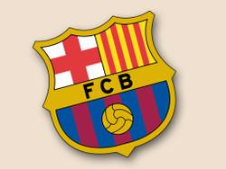 FC Barcelona Cornhole Decal