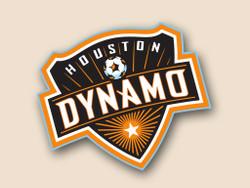 Houston Dynamo Cornhole Decal